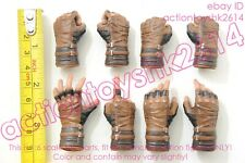 1/6 Hot Toys MMS480 Avengers Infinity War Captain America - gloved hands X 8pcs