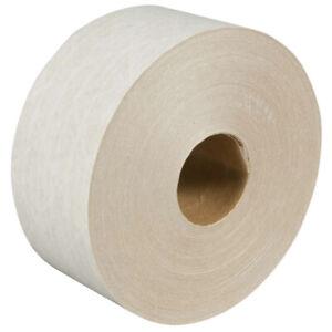 "3"" x 375' Roll WHITE KRAFT REINFORCED PAPER TAPE"