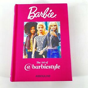 The Art Of @BarbieStyle Book Hardcover By Assouline Barbie Style RARE