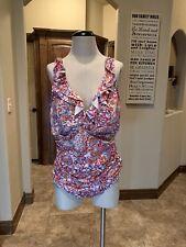 Ralph Lauren 1pc Bathing Suit Multicolor Plus 22W NWT $120 (110)