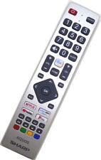 GENUINE SHARP Bluetooth Google aider TV à distance 4T-C40BL3KF2AB 4T-C65BL5KF2AB