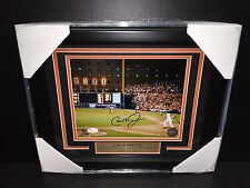 CAL RIPKEN JR AUTOGRAPHED 2131 8X10 PHOTO BALTIMORE ORIOLES FRAMED JSA COA