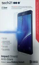 New OEM Tech21 Samsung Galaxy Note 5 Impact Shield Anti-Glare Screen Protector