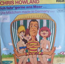 """7"""" 1981 RAR MINT- CHRIS HOWLAND Ich fahr gerne ans Meer"""