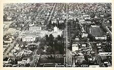c.1950 Real Photo Postcard, Birdseye View Salem Or D285 Marion County Unposted