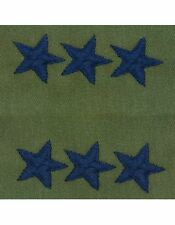 AF-S124C Lieutenant General (Point to Center) USAF Sew-On Subdued