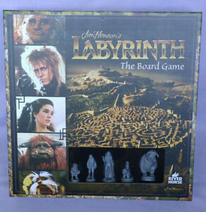 LABYRINTH the board game Jim Henson minitures tabletop River horse fantasy RARE