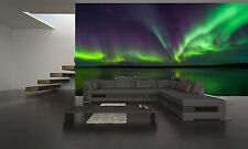 Northern Lights Wall Mural Photo Wallpaper GIANT DECOR Paper Poster Free Paste