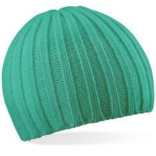 Bonnet turquoise OUTDOOR SPORT EXTREME marque Beechfield mixte Doux au toucher