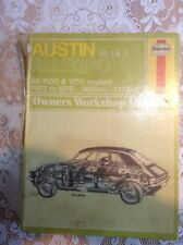 Austin Allegro Mk 1 & 2 Haynes Manual (165)