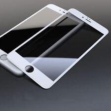 3d VETRO TEMPERATO CURVO COMPLETO LCD Screen Protector Bianco per iPhone 8 PLUS 7+