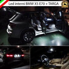 KIT FULL LED INTERNI BMW X5 E70 CONVERSIONE COMPLETA 6000K CANBUS NO AVARIA
