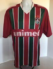 Fluminense Home Jersey #10 Ronaldinho Shirt  Size Large Made Ion Brazil