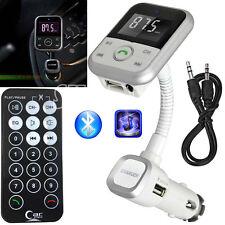 USB LCD SD Remote MP3 Player Car Kit Wireless Bluetooth FM Transmitter Handsfree