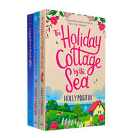 Holly Martin 3 Books Collection Set The Holiday Cottage,Christmas at Mistletoe