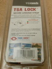 TSA Approved Suit Case Holiday Deluxe Luggage Strap 3 Digit Combination Lock