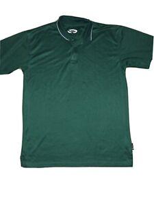Men's Timberline Colorado Poly-Dri Green Polo Shirt Size XL