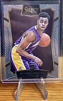 2015-16 Panini Select Lakers D'Angelo Russell Base Rookie RC #62