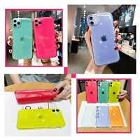 Jelly Shockproof Soft Case Cover For iPhone 11 12 MINI PRO MAX 8 XS XR SE 2020