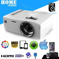1080P HD LED Home MulitMedia Theater Cinema Mini Projector USB TV VGA SD HDMI