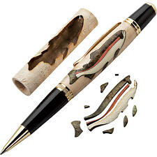 Trout Laser-Cut Inlay Pen Blank