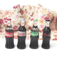 Random 1pc 1:12 Miniature Dollhouse Coca Cola Sprite Fanta Dink Model Decor