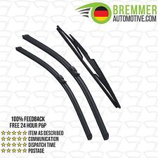 Volvo V50 Estate (2004 to 2006) Wiper Blade Complete Set X3 Front Rear