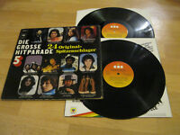 2 LP Various Die Grosse Hitparade 5 Schlager Billy Swan Labelle Vinyl CBS 88 175