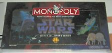 STAR WARS MONOPOLY 1997 20th ANNIVERSARY Edition New Sealed Parker Brothers