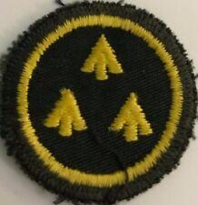 """Canadian Forces Cadet Leader - Gold On Dark Green  1 1/2"""" #4994"""