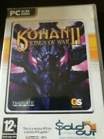 Kohan II 2 Kings Of War PC CD Rom Game  UK Seller
