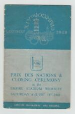 Orig. PRG Olympic Games London 1948-Closing Ceremony!!! EXTREMELY RARE