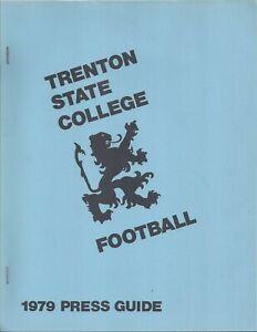 1979 Trenton St Lions Football Media Guide HC Eric Hamilton