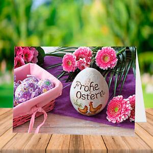 Osterkarten Osterkarte Grußkarten Ostern - mit Umschlag -
