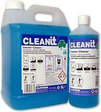 Clover Cleanit 1Ltr interior cleaner portes fenêtres bureaux nettoyage industriel 397