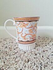 Crown Trent Fine Bone China Florence Gold Swirl Pattern Coffee Tea Mug