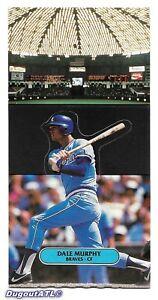 ⚾️ 1987 ~ Donruss Pop-Ups #14 ~ Dale Murphy ~ Atlanta Braves ~ NrMt=7 ~ QTY
