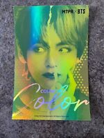 MTPR X BTS Color On Color Contact Lens Official Postcard V TAEHYUNG