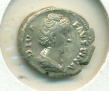 Faustina Senior Denarius d141 VF Aeternitas Diva Faustina Cemmemorative Post