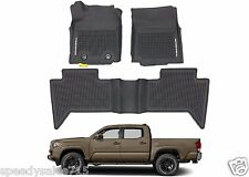 OEM PT908-36164-20 All Weather Floor Mats For 2016-2018 Toyota Tacoma Double Cab