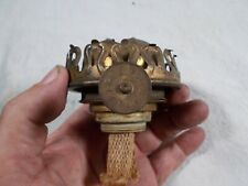 Antique Brass Climax style EAGLE Burner OIL LAMP with #2 or #3 threads