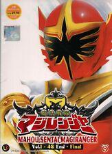 DVD Mahou Sentai Magiranger Vol.1-48 End + Final English Subtitle