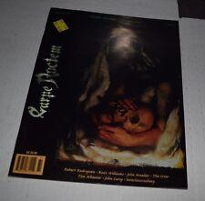 Carpe Noctem Magazine vol.3 no.1 1996 goth rozz williams   JTHM
