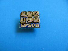 Epson Key Pad Pin badge, VGC. Enamel. Arthus Bertrand.