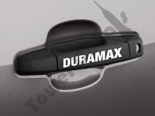 6x Door Handle Duramax vinyl sticker decal emblem Silverado GMC Sierra Avalanche