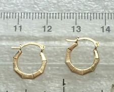 9 ct gold lovely kids  earrings  rpr 29.99 # 2215