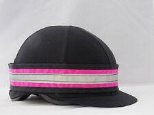 Pink Hi Viz Fluorescent Hat Band - With Reflective Strip
