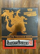 POKEMON CHAMPIONS PATH ELITE TRAINER BOX ETB BRAND NEW IN HAND - Ships TODAY!!!