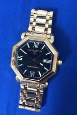 Swiss Legend Rose Gold Black 18 Jewels Automatic Mens Watch (5J)