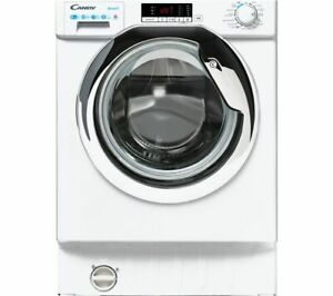 CANDY CBD485D2CE 8 kg Integrated Washer Dryer - Currys